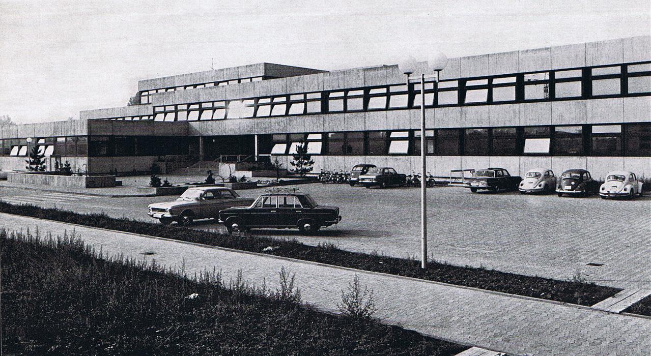 Parkplatz 1973