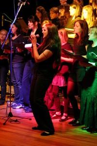 Erste Vocal-Night in der Marienschule Foto: Thomas Schmitz