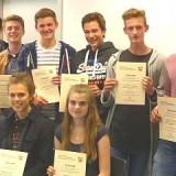 Macht-Mathe-Teilnehmer 2015 erhielten ihre Urkunden