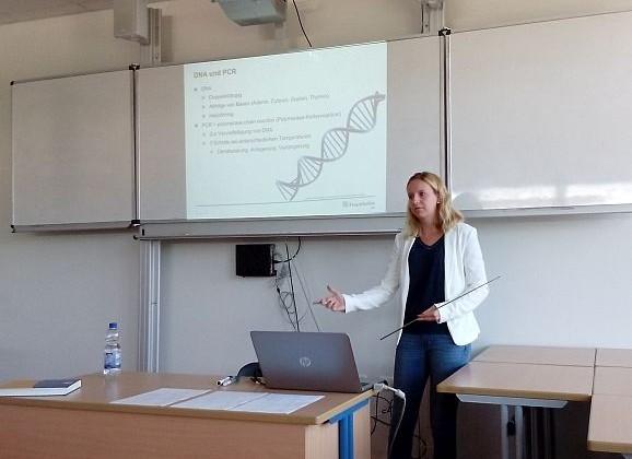 Von Ex-Schüler zu Schüler: PCR und Next-Generation Sequenzierung