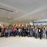 Marienschüler im Euroapaparlament in Brüssel