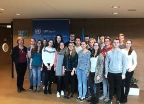 Englisch-LK zu Besuch bei der UN