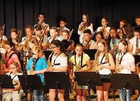Sommerkonzert der Musikklassen