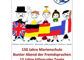Bunter Abend der Fremdsprachen – 15 Jahre bilingualer Zweig