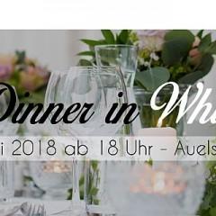 Dinner in white (Termin vormerken!)