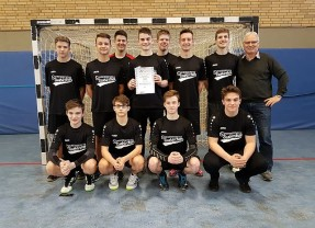 Marienschule wird Handball-Bezirksmeister