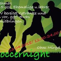 Soccernight am 13. April – Spielpläne online