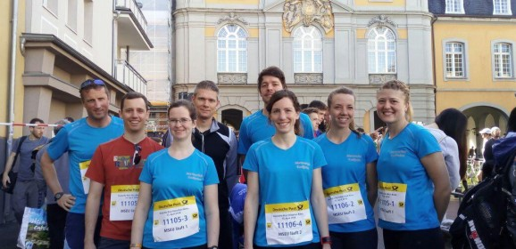 Die Marienschule beim Bonn-Marathon