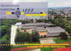 Festschrift 150 Jahre Marienschule zu erwerben!