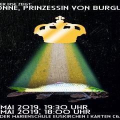 """Aus Mobbing wird Mord – """"Yvonne, Prinzessin von Burgund"""" an der Marienschule"""