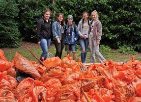 """Marienschüler*innen engagieren sich freiwillig zum """"World Oceans Day"""""""